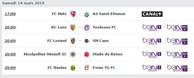 [Sam 14 Mar] Ligue 1 (J29) : MultiFoot (20h00) en direct sur beIN SPORTS 1 !