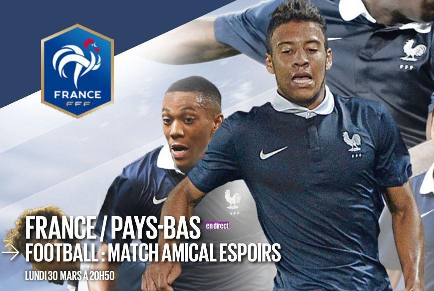 [Lun 30 Mar] Football (Espoirs, match amical) France / Pays-Bas, à suivre en direct à 20h50 sur D17 !