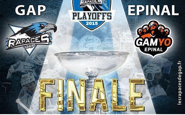[Mar 31 Mar] Hockey (Ligue Magnus, Finale Match 5) Gap / Epinal, à suivre en direct à 20h15 sur l'Equipe 21 !