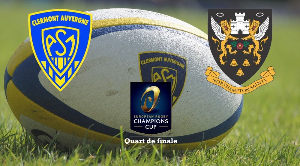 [Sam 04 Avr] Rugby Champion's Cup (1/4.F) : Clermont / Northampton (18h45) en direct sur beIN SPORTS 3 !