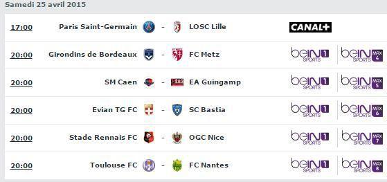 [Sam 25 Avr] Ligue 1 (J34) : MultiFoot (20h00) en direct sur beIN SPORTS 1 !