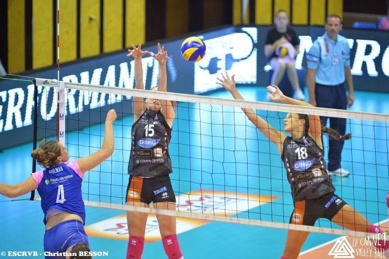 [Sam 02 Mai] Volley (Ligue Féminine, 1/2 Finale Match d'Appui) Le Cannet / SF Paris Saint Cloud, à suivre en direct à 20h45 sur Eurosport !
