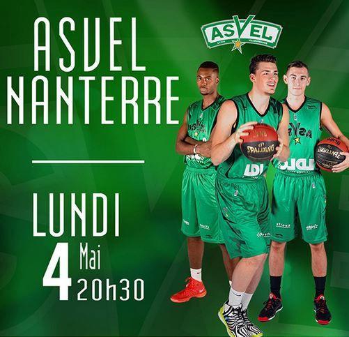 [Lun 04 Mai] Basket (31ème Journée de Pro A) Villeurbanne / Nanterre, à suivre en direct à 20h30 sur Sport Plus !