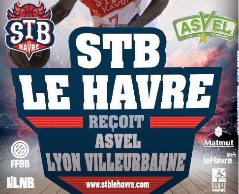 [Ven 08 Mai] Basket (32ème Journée de Pro A) Le Havre / Villeurbanne, à suivre en direct à 20h30 sur Sport Plus !