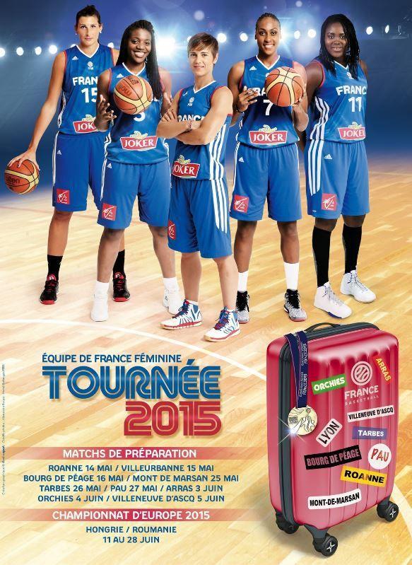 [Jeu 14 Mai] Basket (Match Amical Féminin) France / Grande-Bretagne, à suivre en direct à 20h45 sur Canal Plus Sport !