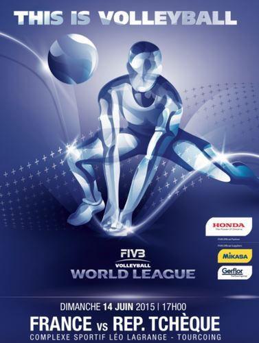 [Dim 14 Juin] Volley (World League, 2ème match) France / République Tchèque, à suivre en direct à 17h00 sur BeIN SPORTS 3 !