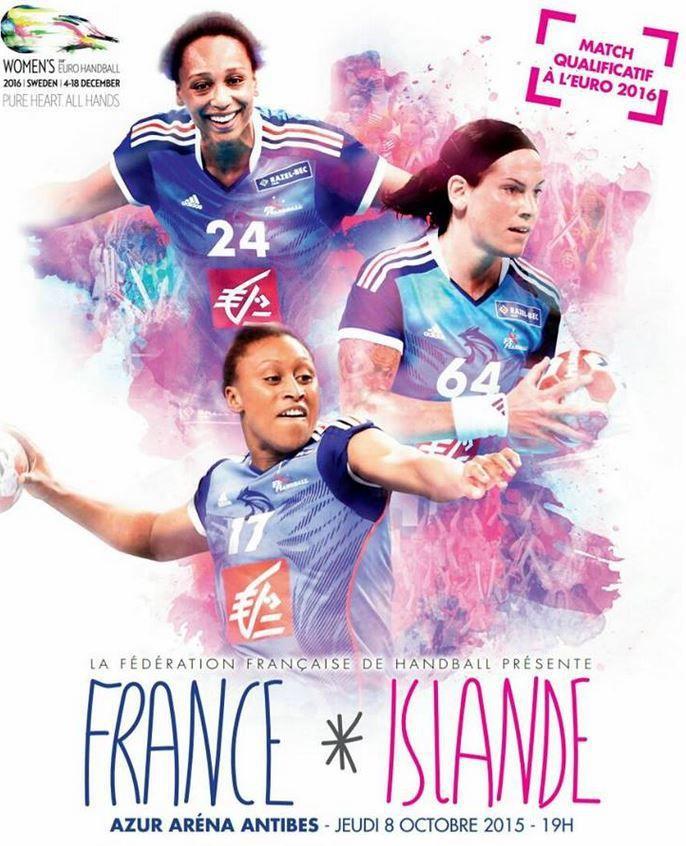 [Jeu 08 Oct] Handball Féminin (Euro 2016) France / Islande, à suivre en direct à 19h00 sur BeIN SPORTS 3 !