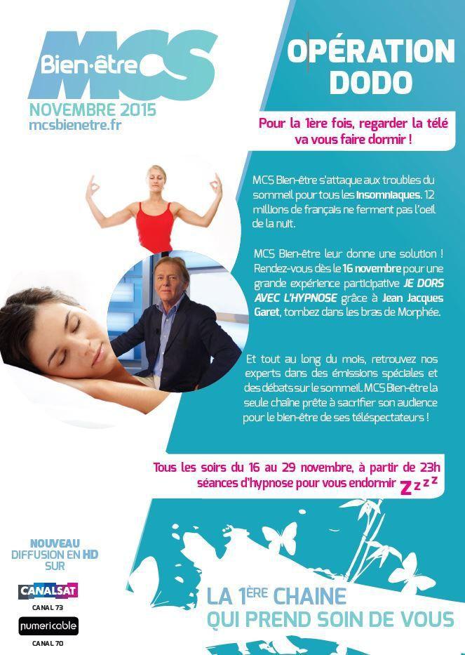 [Info TV] Découvrez les Temps Forts du mois de Novembre 2015 sur Ma Chaîne Sport Bien-Être !