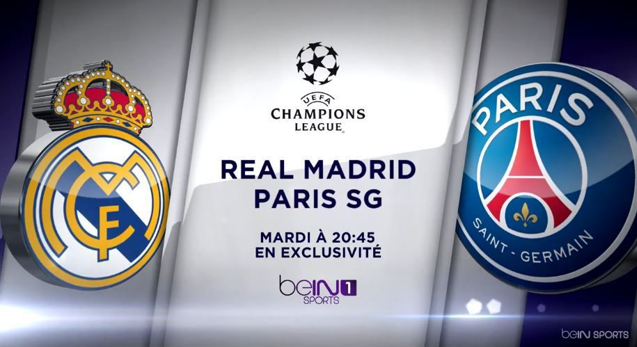 [Mar 03 Nov] Foot (Ligue des Champ) : Real Madrid / Paris SG (20h45) en direct sur beIN SPORTS 1 !