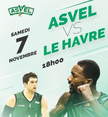 [Sam 07 Nov] Basket (Pro A, 7ème Journée) Lyon Villeurbanne / Le Havre, à suivre en direct dès 17h30 sur Ma Chaîne Sport !