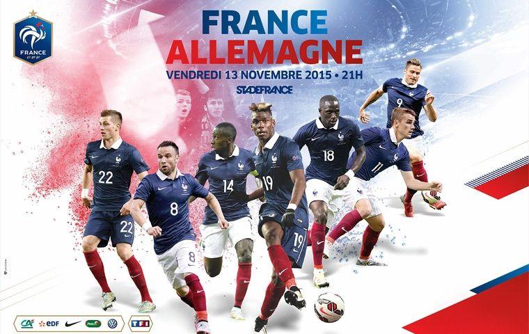 [Ven 13 Nov] Foot (Amical) : France / Allemagne (21h00) en diret sur TF1 !