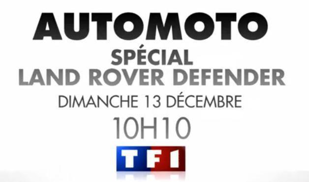 [Dim 13 Déc] Auto-Moto à suivre dès 10h10 sur TF1 ! Découvrez le sommaire de l'émission !