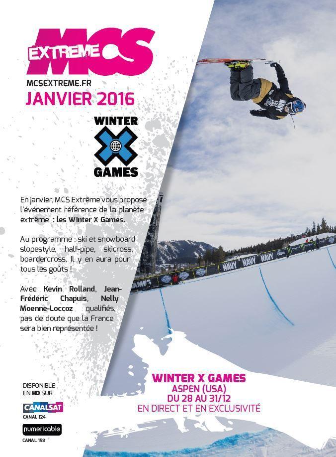 [Info TV] Découvrez les Temps Forts du mois de Janvier 2016 sur Ma Chaîne Sport Extrême !