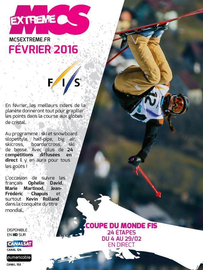 [Info TV] Découvrez les Temps Forts du mois de Février 2016 sur Ma Chaîne Sport Extrême !