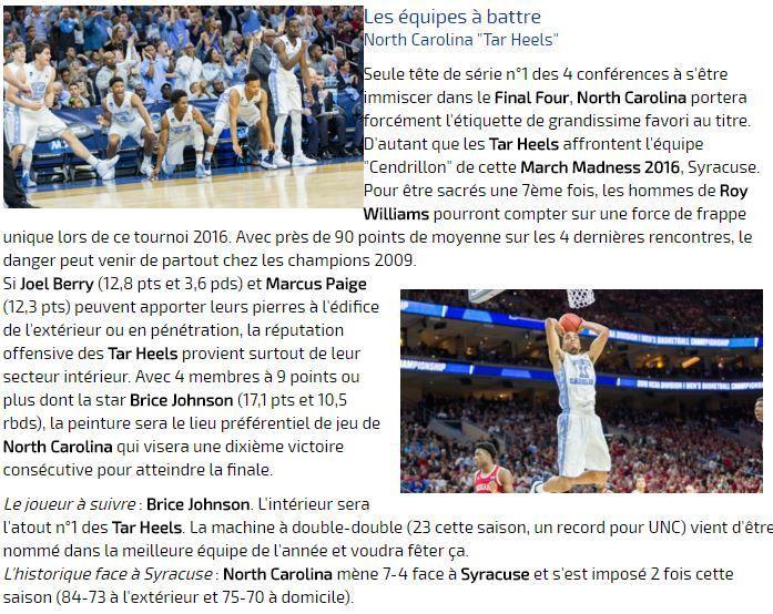 [Sam 02 Avr] NCAA Basket - Le Final Four sera à suivre en direct dès 23h45 sur Ma Chaîne Sport !