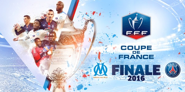 [Sam 21 Mai] Foot Coupe de France 2016 (Finale) : Marseille / PSG (21h00) en direct sur EUROSPORT2 et FRANCE 2 !