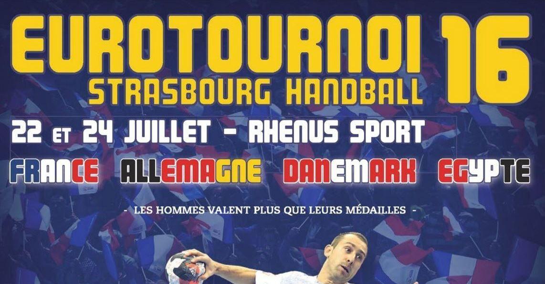 [Du 22 au 24 Juil] Handball - L'Euro Tournoi Homme de préparation olympique à suivre sur beIN SPORTS !
