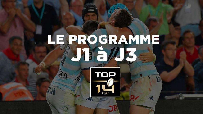 [Infos TV Rugby - 2ème Journée du Top 14 ce week-end ! Découvrez le dispositif TV et le planning TV des 3 premières journées !