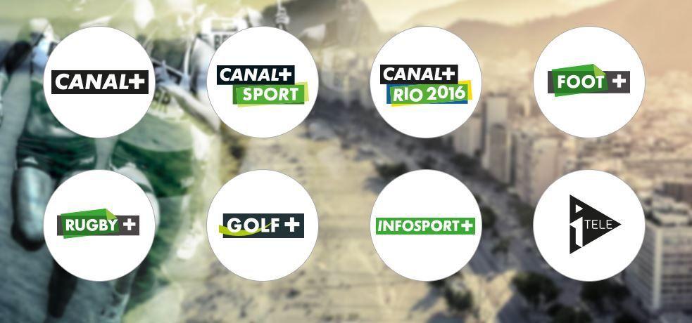 [JO 2016 Rio] Dispositif TV complet de CANAL+ !