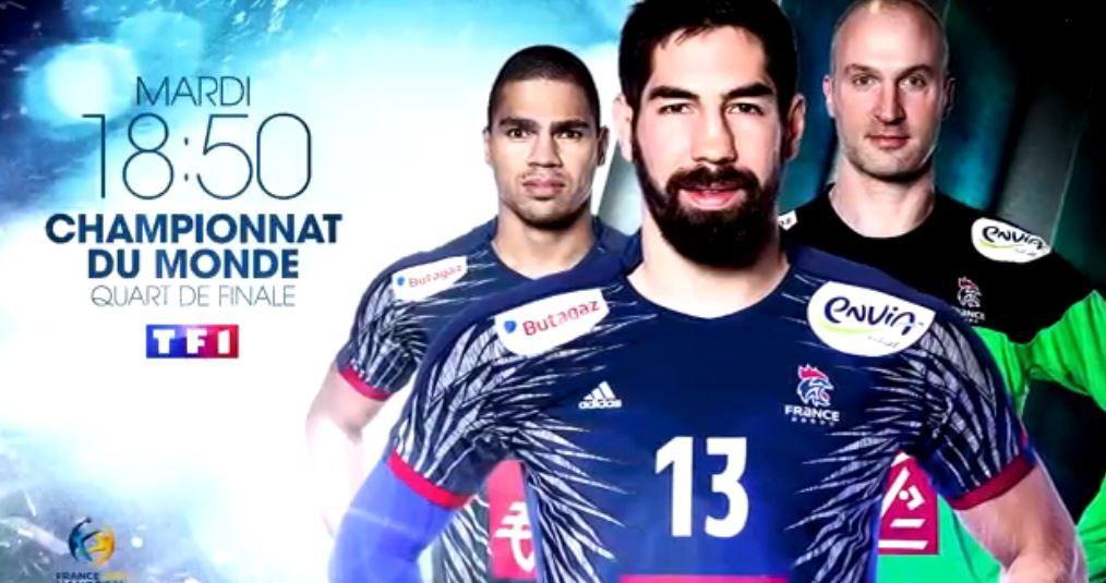 [Mar 24 Jan] Mondial de Hand - France / Suède (1/4 Finale) à suivre sur bein SPORTS, TF1 et TMC !