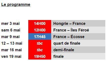 [Infos TV] Football - Euro U17 : les Bleuets et les phases finales sur la chaîne L'Équipe !
