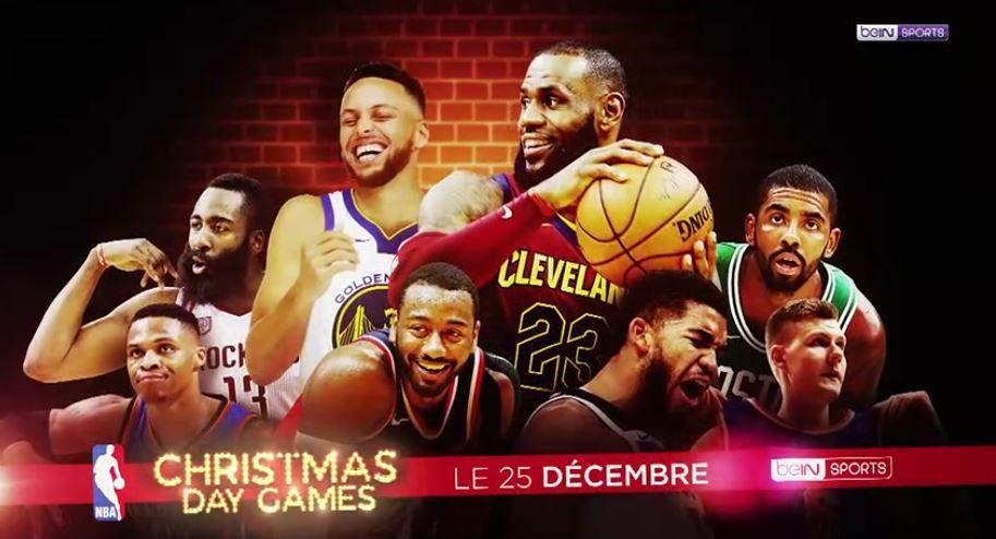 [Infos TV] NBA - les Christmas Day Games sur beIN SPORTS le 25 décembre !