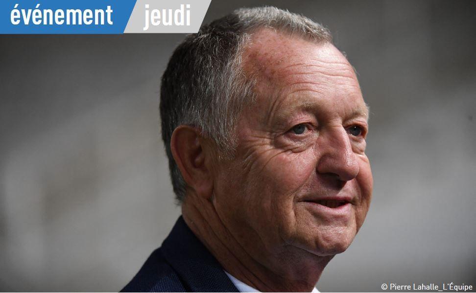 """[Infos TV] Jean-Michel Aulas invité ce jeudi de la 100ème de """"L'Équipe d'Estelle"""" !"""