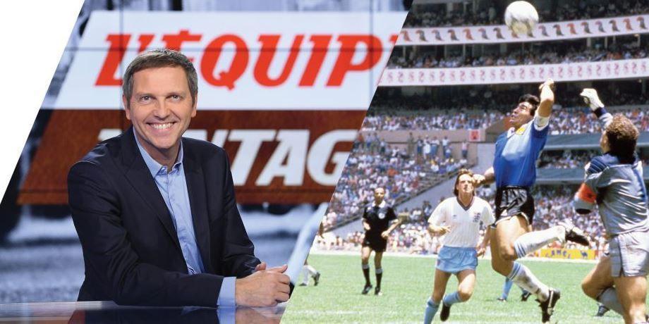 [Infos TV] Foot - Le mythique Argentine – Angleterre de 1986 ce mercredi sur l'Equipe !
