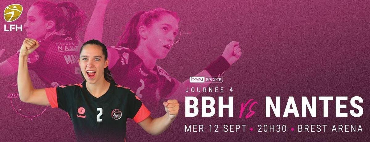 [Infos TV] Hand - Le Derby Féminin Brest / Nantes ce mercredi en direct sur beIN SPORTS 3 !