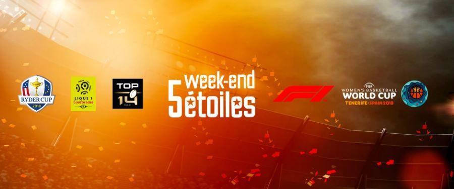 [Infos TV] Plus de 110 heures de sport en direct ce week-end sur les chaînes Canal Plus !