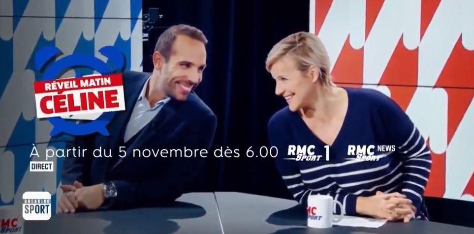 [Infos TV] « Réveil Matin Céline », la nouvelle matinale de RMC Sport  !