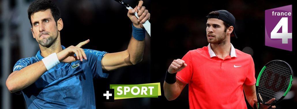 [Infos TV] La Finale Djokovic / Khachanov à suivre en direct sur Canal + Sport et France 4 !
