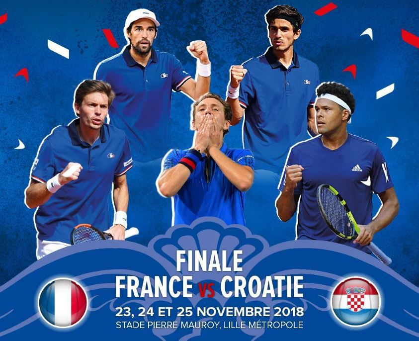 [Infos TV] La Finale de la Coupe Davis France / Croatie sur beIN SPORTS et France TV !
