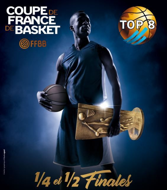 [Basket] Le Top 8 de la Coupe de France de basket ce week-end sur RMC Sport !
