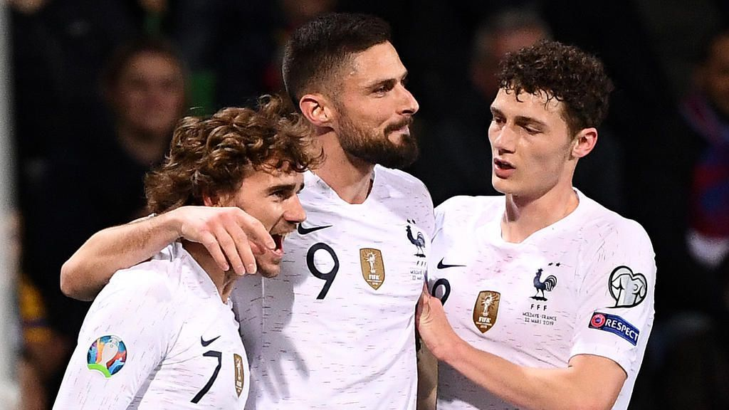 [Lun 25 Mars] Foot (Elim Euro 2020) : France / Islande (20h45) en direct sur M6 !
