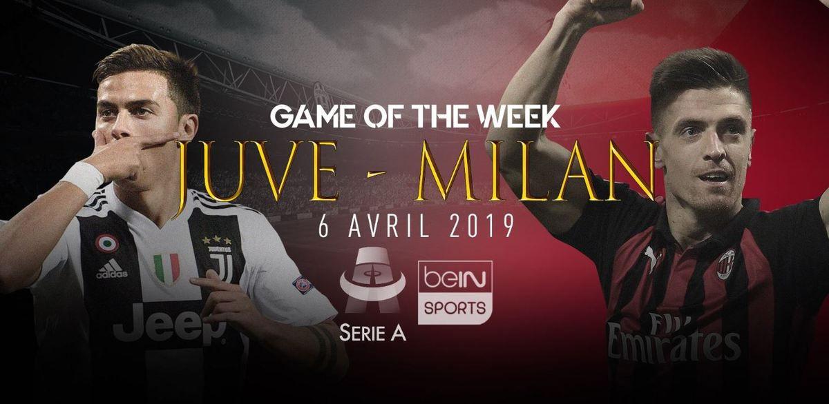[Foot] Série - Juventus / Milan à suivre ce samedi 06 avril sur beIN SPORTS 3 !