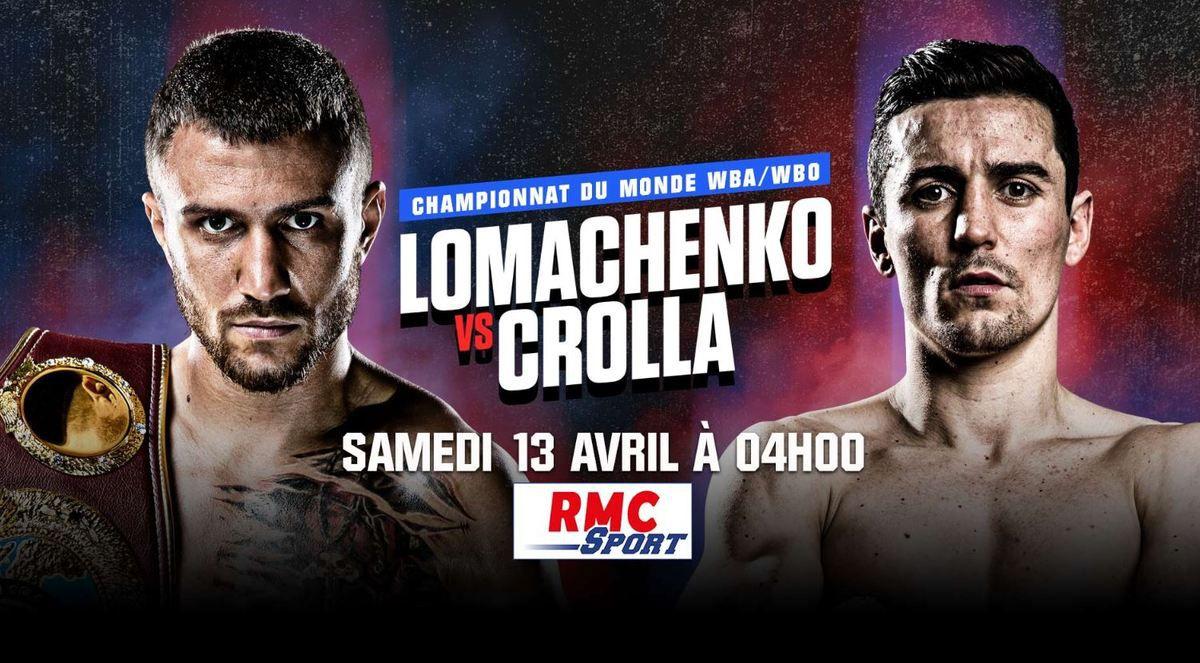 [Boxe] Lomachenko vs Crollaà suivre dans la nuit de vendredi à samedi sur RMC Sport 1 et 4 !