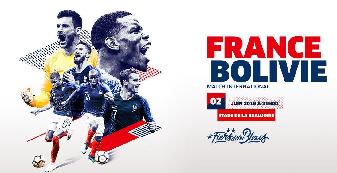 [Foot] Le match amical, France / Bolivie ce dimanche en direct sur TMC !