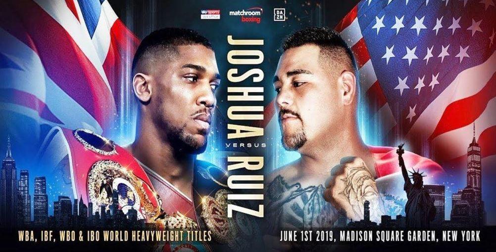 [Infos TV] Joshua vs. Andy Ruiz, Cissokho et N'Dam à l'affiche de la soirée boxe ce week-end sur RMC Sport 1 !