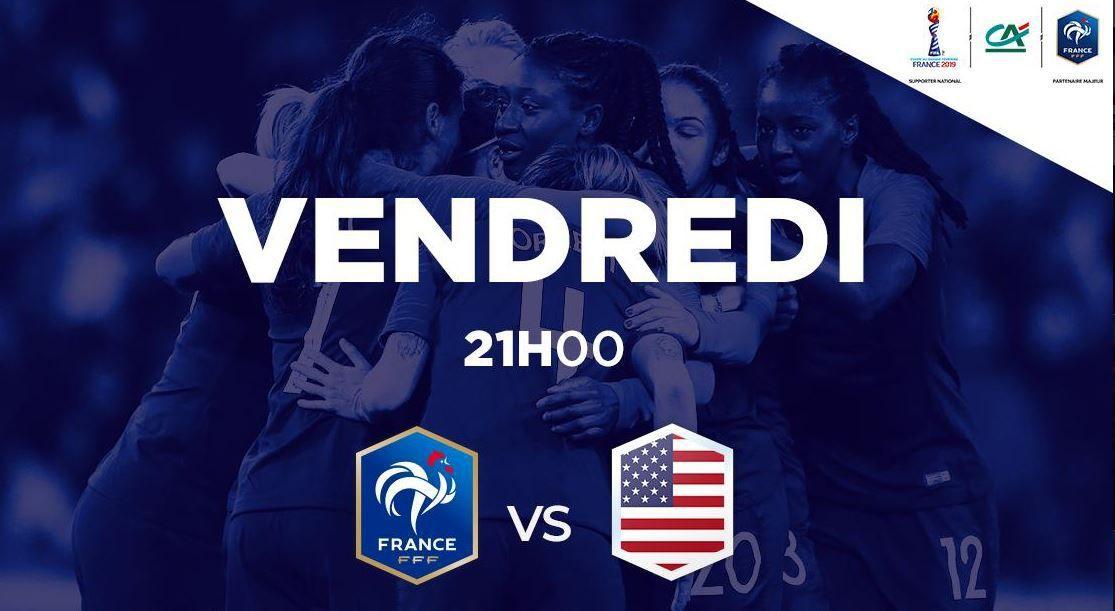 [Foot] Coupe du Monde (1/4 de Finale) France / USA à suivre en direct ce vendredi sur TF1 et Canal + !
