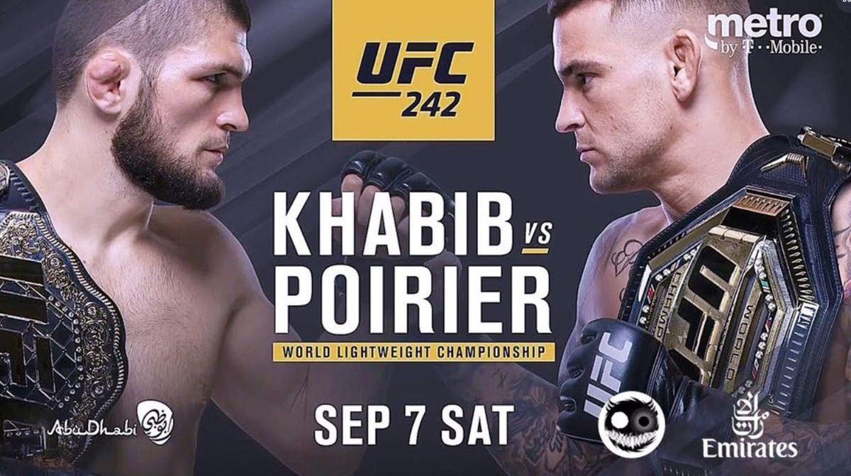 [infos TV] MMA - UFC 242 Khabib Nurmagomedov vs. Dustin Poirier ce samedi sur RMC Sport 4 !