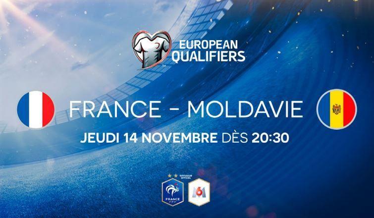 [Foot] France / Moldavie (Euro 2020) sera à suivre le 14/11 sur M6 !