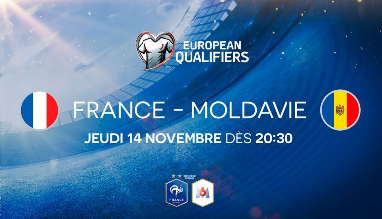 [Foot] France / Moldavie (Qualifications Euro 2020) ce jeudi en direct sur M6 !