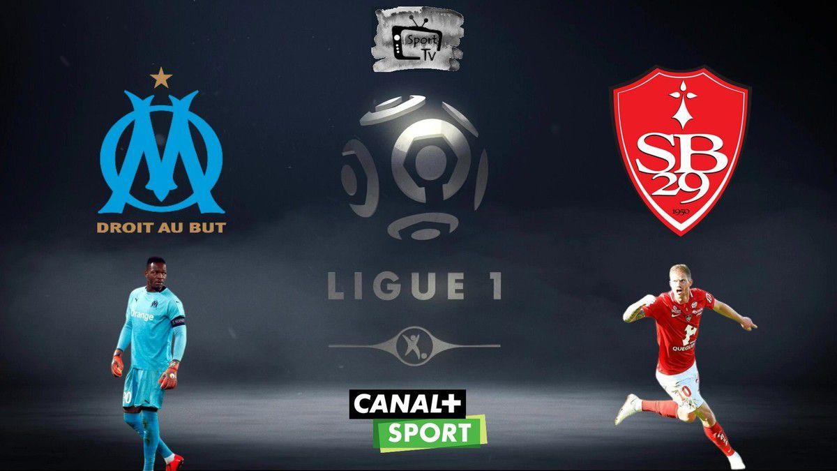 [Foot] Olympique de Marseille / Brest (Ligue 1) ce vendredi en direct sur Canal + Sport !