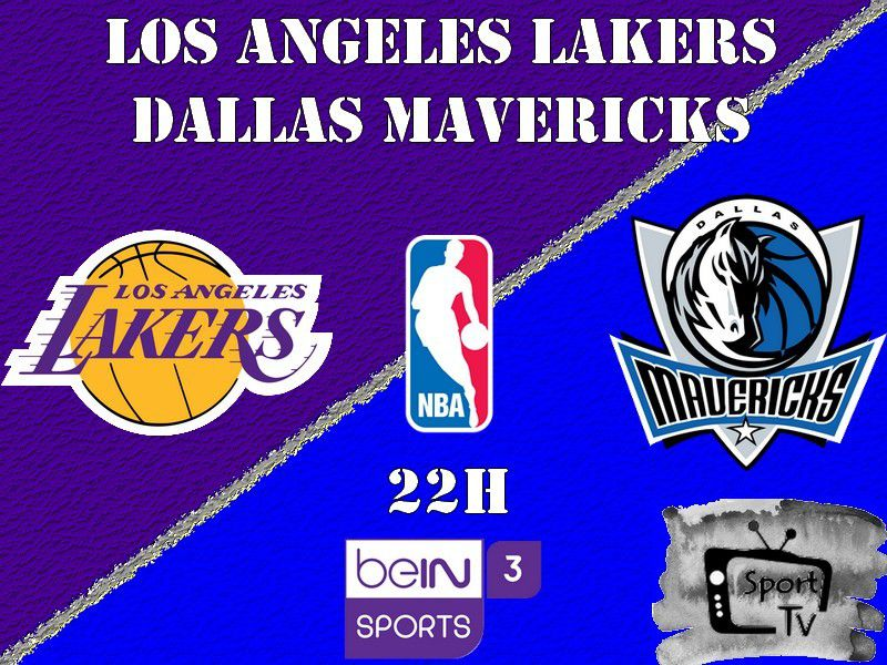 [NBA] Dallas Mavericks @ Los Angeles Lakers ce dimanche en direct sur beIN SPORTS 3 !