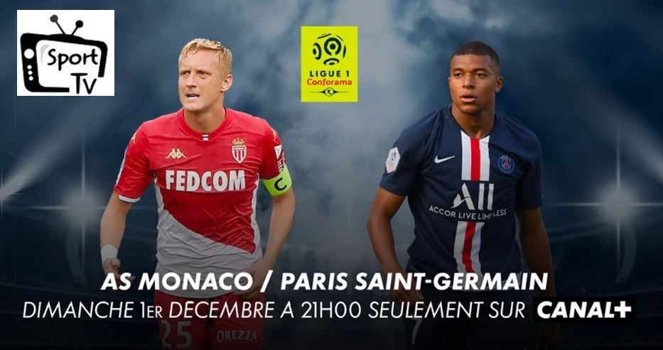 [Foot] REPORTE : AS Monaco / Paris SG (Ligue 1) ce dimanche en direct sur Canal + !