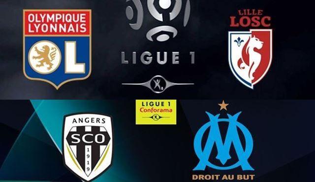 [Foot] Angers / Marseille et Lyon / Lille (Ligue 1)  ce mardi sur Canal Plus !