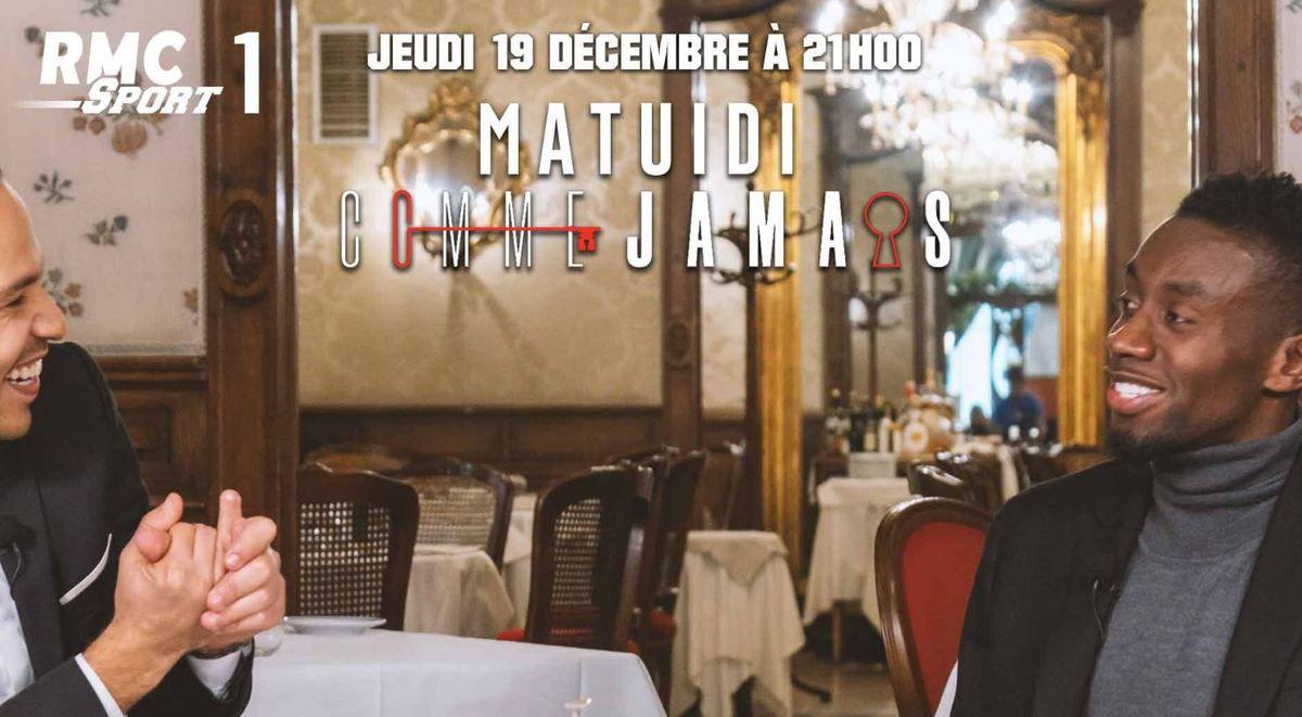 """[Infos TV] Blaise Matuidi dans """"Comme jamais"""" ce jeudi sur RMC Sport !"""