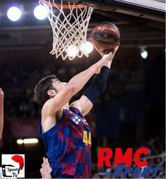 [Basket] Barcelone / Lyon-Villeurbanne (Euroleague) ce mardi sur RMC Sport 2 !