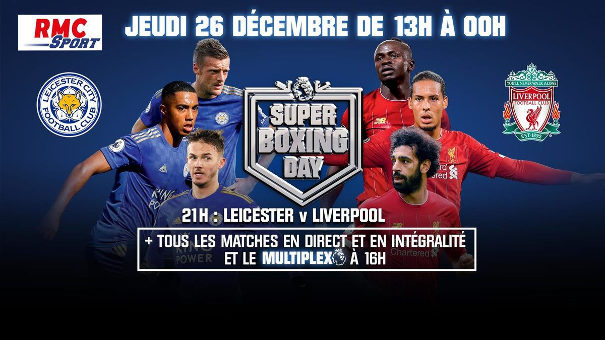 [Foot] Boxing Day de Premier League : Dispositif exceptionnel sur Canal+Sport et RMC Sport !